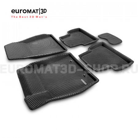3D коврики Euromat3D EVA в салон для Nissan Juke (2011-) № EM3DEVA-003701