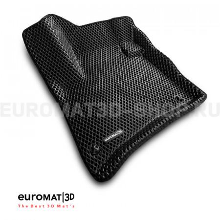 3D коврики Euromat3D EVA в салон для Volkswagen Touareg (2010-2017) № EM3DEVA-004101