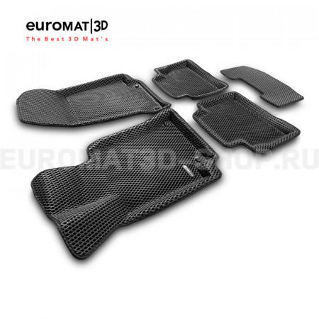 3D коврики Euromat3D EVA в салон для Mercedes CLS-Class (C257) (2018-) № EM3DEVA-003519