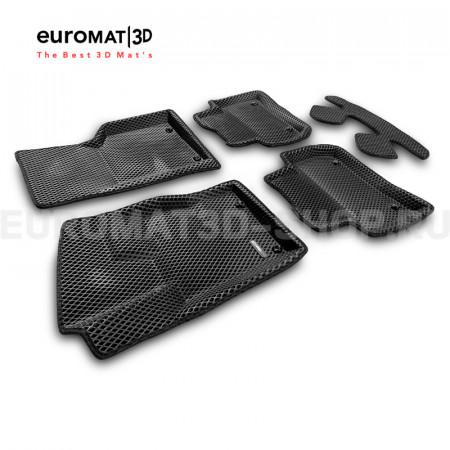3D коврики Euromat3D EVA в салон для Land Rover Range Rover Velar (2017-) № EM3DEVA-002753