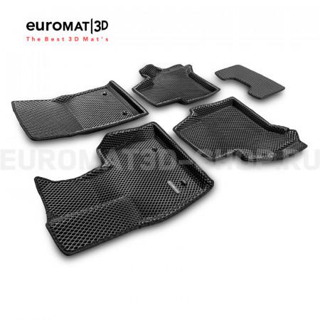 3D коврики Euromat3D EVA в салон для Mercedes G-Class (W463) (2018-) № EM3DEVA-003502