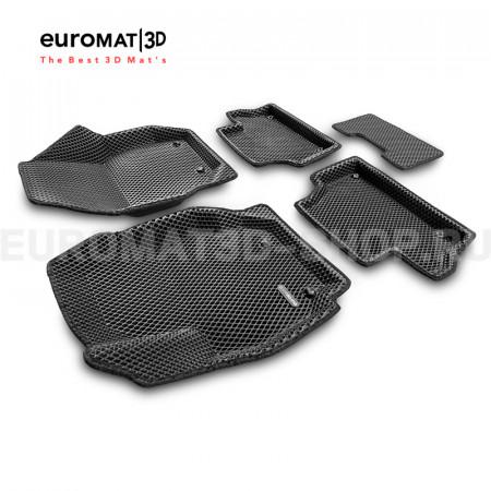 3D коврики Euromat3D EVA в салон для Volvo XC 60 (2008-2017) № EM3DEVA-005505