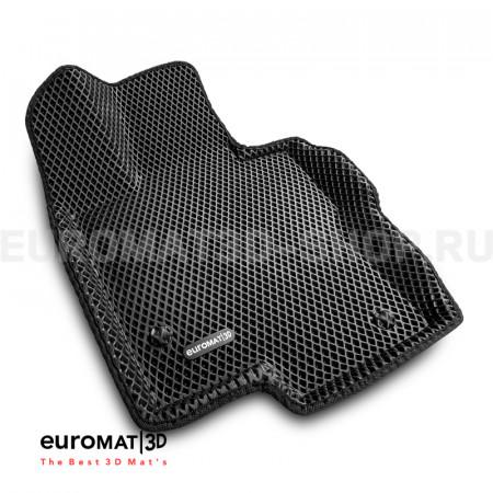 3D коврики Euromat3D EVA в салон для Mercedes GLE-Class (W167) (2019-) № EM3DEVA-003509