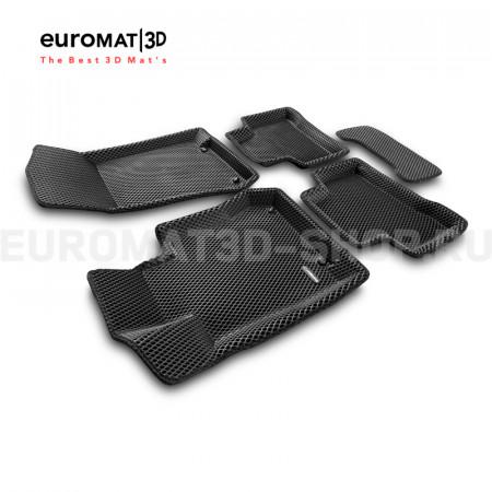 3D коврики Euromat3D EVA в салон для Mercedes GLC-Class (X253) (2015-) № EM3DEVA-003518