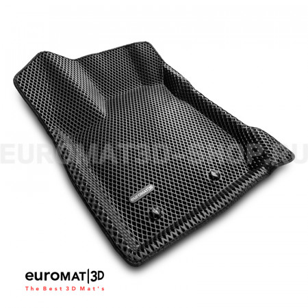 3D коврики Euromat3D EVA в салон для Lada XRay (2016-) № EM3DEVA-005309