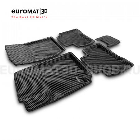 3D коврики Euromat3D EVA в салон для Suzuki Grand Vitara (2005-) № EM3DEVA-004801