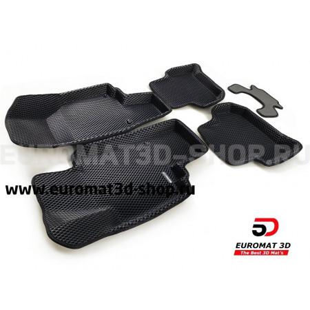 3D коврики Euromat3D EVA в салон для Skoda Yeti (2009-) № EM3DEVA-004511
