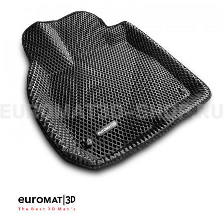3D коврики Euromat3D EVA в салон для Honda CR-V (2017-) № EM3DEVA-002614