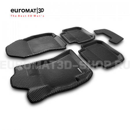3D коврики Euromat3D EVA в салон для Subaru Legacy (2010-) № EM3DEVA-004704