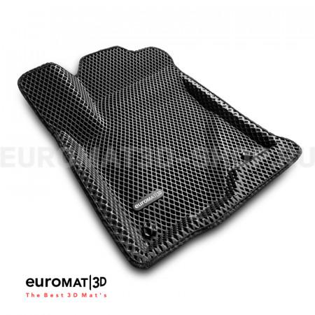 3D коврики Euromat3D EVA в салон для Toyota Hilux (2016-) № EM3DEVA-005134