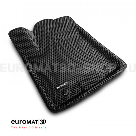 3D коврики Euromat3D EVA в салон для Nissan Patrol (2010-) № EM3DEVA-002813