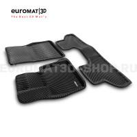3D коврики Euromat3D EVA в салон для Bmw X6 (F16) (2015-) № EM3DEVA-001215