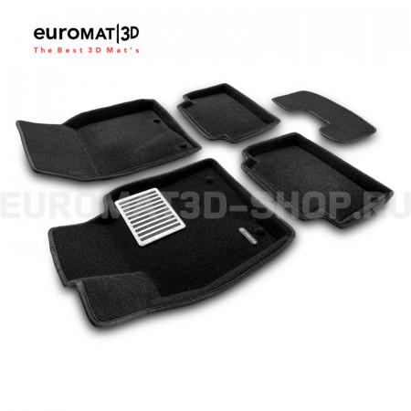 Текстильные 3D коврики Euromat в салон для Mazda CX-30 (2021-) № EM3D-003400