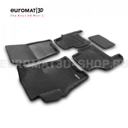 3D Коврики Euromat3D EVA В Салон Для LAND ROVER Range Rover Sport (2005-2012) № EM3DEVA-003104