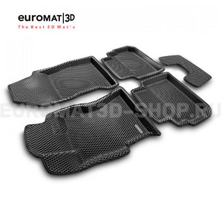 3D Коврики Euromat3D EVA В Салон Для SUBARU XV (2017-) № EM3DEVA-004705