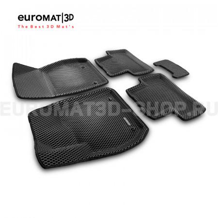 3D Коврики Euromat3D EVA В Салон Для Opel Zafira C (2012-) № EM3DEVA-003814