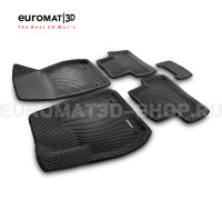 3D Коврики Euromat3D EVA В Салон Для Chevrolet Malibu (2012-2017) № EM3DEVA-003807