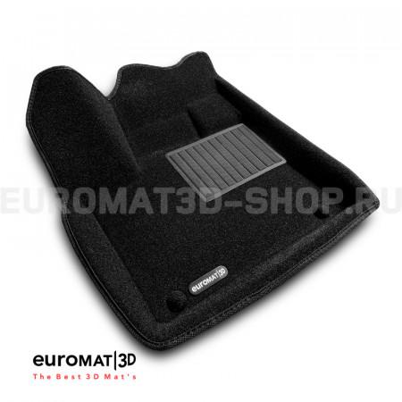 Текстильные 3D коврики Euromat3D Business в салон для Citroen C5 Aircross (2018-) № EMC3D-003907