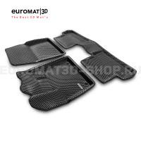 3D коврики Euromat3D EVA в салон для Citroen C5 Aircross (2018-) № EM3DEVA-003907